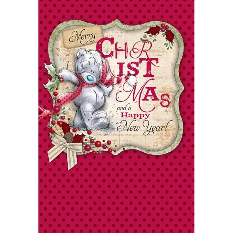 Merry Christmas & Happy New Year Me to You Bear Card  £2.49