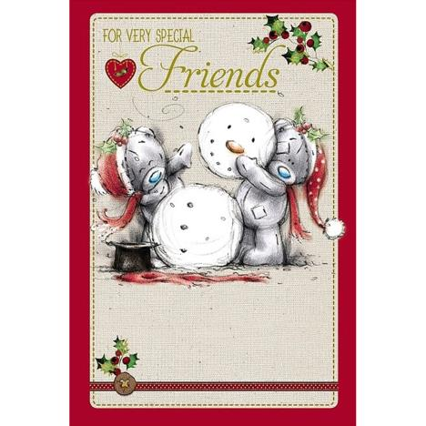 Special Friends Me to You Bear Christmas Card  £2.49