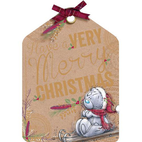 Merry Christmas Me to You Bear Christmas Card  £1.79