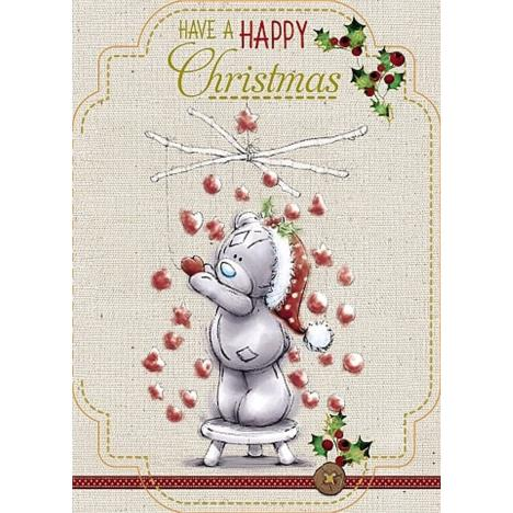 Happy Christmas Bear Hanging Hearts Me to You Bear Christmas Card  £1.79