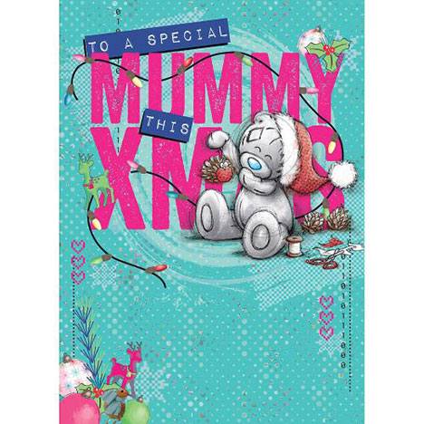 Mummy Me to You Bear Christmas Card  £1.79