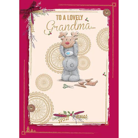 Grandma Me to You Bear Christmas Card  £1.79