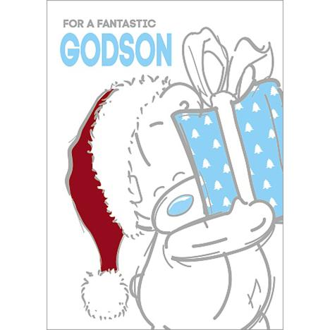 Fantastic Godson Me to You Bear Christmas Card  £1.79