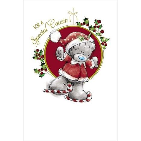 Special Cousin Me to You Bear Christmas Card  £1.79