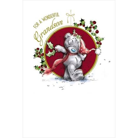 Wonderful Grandson Me to You Bear Christmas Card  £1.79