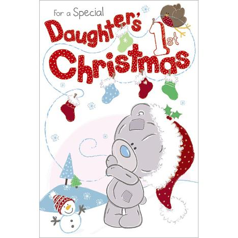 Daughters 1st Christmas Me to You Bear Card  £2.49