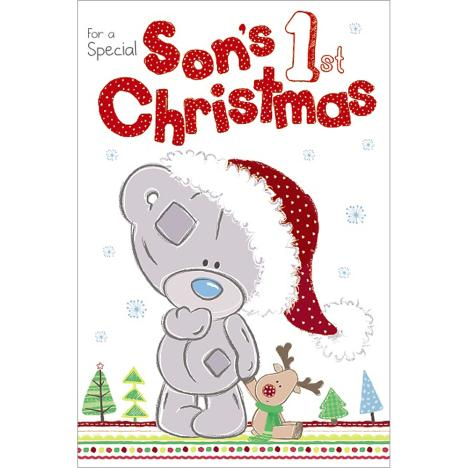 Sons 1st Christmas Me to You Bear Card  £2.49