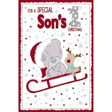 Special Sons 1st Christmas Me to You Bear Christmas Card  £2.49
