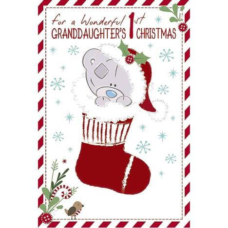 Granddaughters 1st Tiny Tatty Teddy  Me to You Bear Christmas Card  £2.49