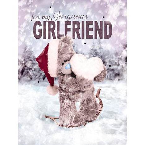 Girlfriend Me to You Bear Boxed Christmas Card  £9.99
