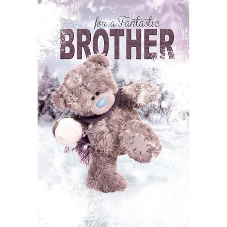 3D Holographic Brother Me to You Bear Christmas Card  £3.79