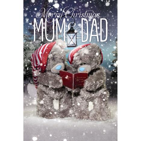 To You Both Christmas Card Me To You Tatty Teddy 3D Holographic Card