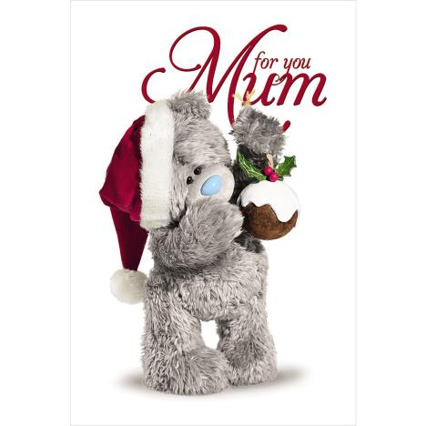 3D Holographic Mum Me to You Bear Christmas Card  £3.79