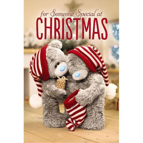 3D Holographic Someone Special Me to You Bear Christmas Card  £4.25