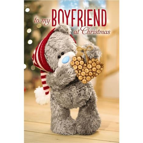 3D Holographic Boyfriend Me to You Bear Christmas Card  £4.25