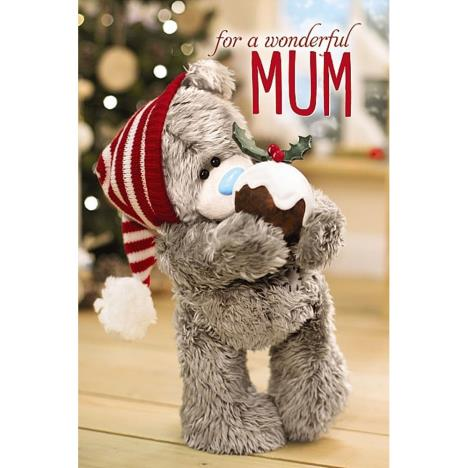 3D Holographic Wonderful Mum Me to You Bear Christmas Card  £4.25