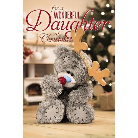 3D Holographic Wonderful Daughter Me to You Bear Christmas Card  £4.25