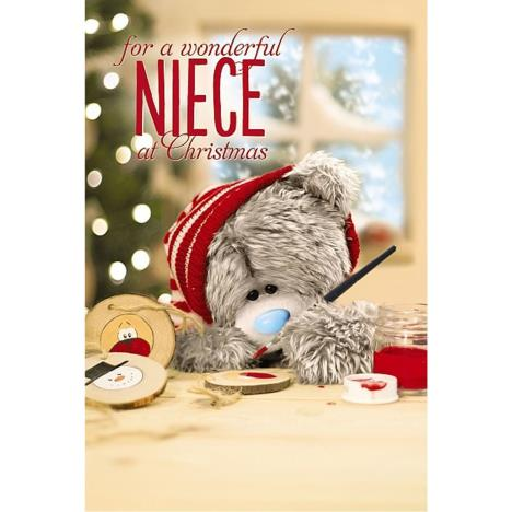 3D Holographic Niece Me to You Bear Christmas Card  £4.25