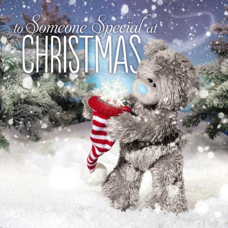 3D Holographic Someone Special Me to You Bear Christmas Card  £2.99