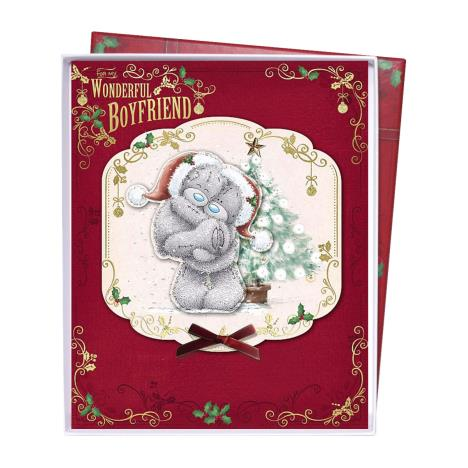 Wondful Boyfriend Me To You Bear Handmade Boxed Christmas Card  £6.99