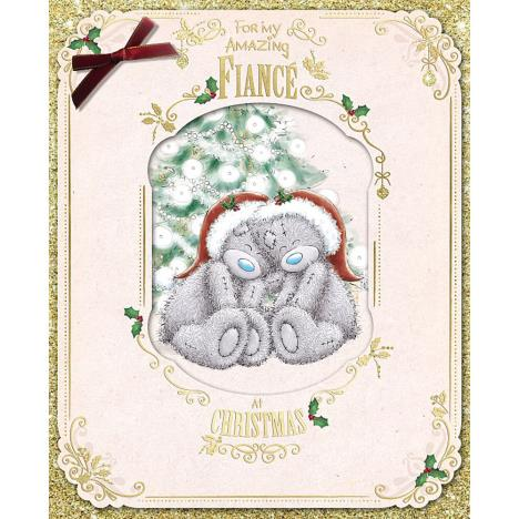Amazing Fiance Me To You Bear Handmade Boxed Christmas Card  £6.99