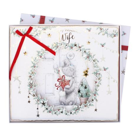 Wonderful Wife Me to You Bear Luxury Giant Boxed Christmas Card  £14.99
