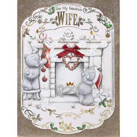 Fabulous Wife Me To You Bear Luxury Boxed Christmas Card  £9.99