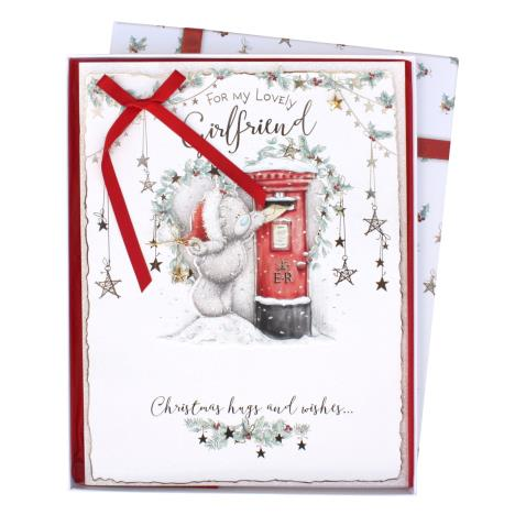 Lovely Girlfriend Me to You Bear Luxury Boxed Christmas Card  £9.99