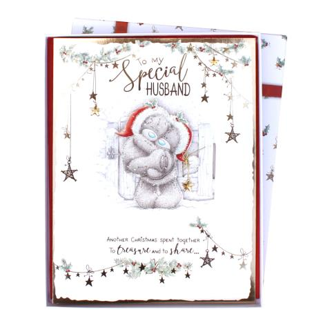 Special Husband Me to You Bear Luxury Boxed Christmas Card  £9.99