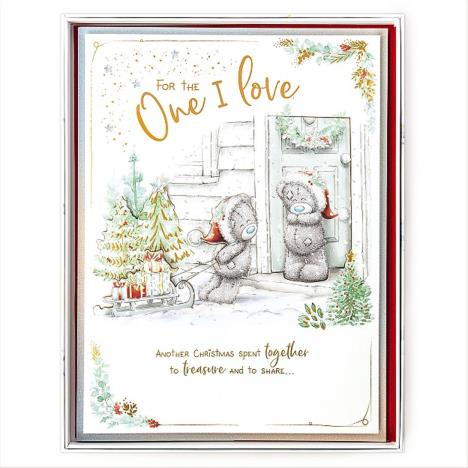 One I Love Me to You Bear Luxury Boxed Christmas Card  £9.99
