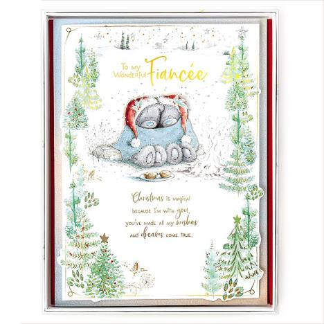 Wonderful Fiancee Me to You Bear Luxury Boxed Christmas Card  £9.99