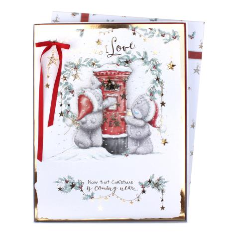 One I Love Me to You Bear Giant Luxury Boxed Christmas Card  £19.99