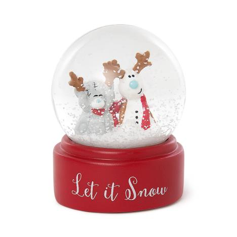 Let It Snow Christmas Me to You Bear Snow Globe  £7.99
