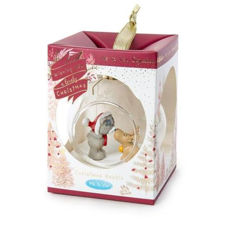 Tatty Teddy & Reindeer Me to You Christmas Glass Bauble  £8.00