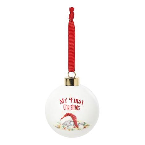 My First Me to You Bear Christmas Bauble  £4.99