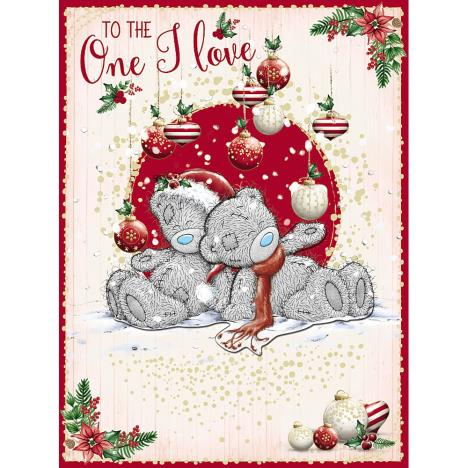 One I Love Large Me to You Bear Christmas Card  £3.99