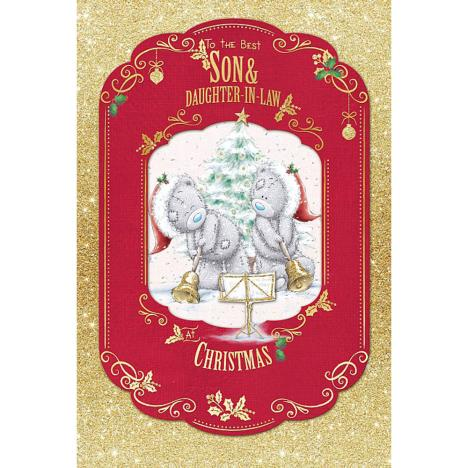 Best Son & Daughter In Law Me To You Bear Christmas Card  £4.25