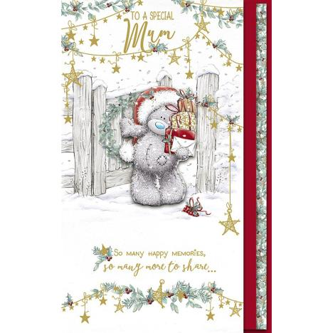 Special Mum Handmade Me to You Bear Christmas Card  £4.99