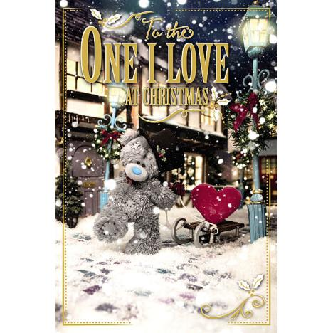 3D Holographic One I Love Me to You Bear Christmas Card  £4.25