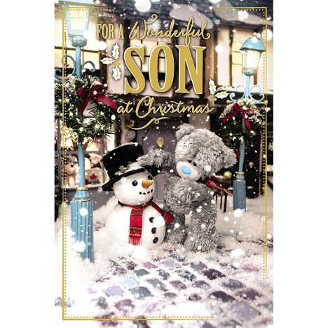 3D Holographic Wonderful Son Me to You Bear Christmas Card  £4.25