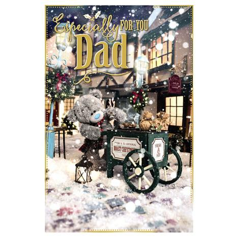 3D Holographic Especially For You Dad Me to You Bear Christmas Card  £4.25