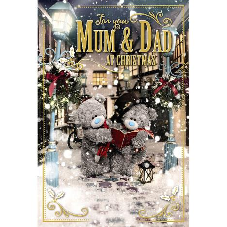 3D Holographic Mum & Dad Me to You Bear Christmas Card  £4.25