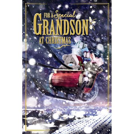3D Holographic Special Grandson Me to You Bear Christmas Card  £4.25