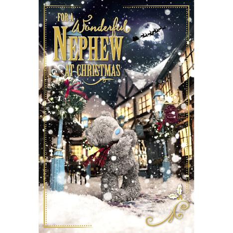 3D Holographic Wonderful Nephew Me to You Bear Christmas Card  £4.25
