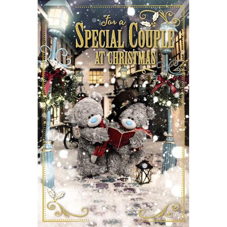 3D Holographic Special Couple Me to You Bear Christmas Card  £4.25