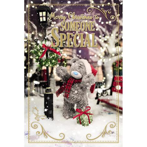 3D Holographic Someone Special Me to You Bear Christmas Card  £3.39