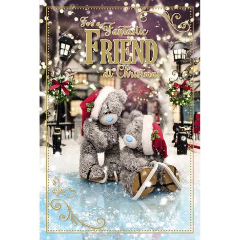 3D Holographic Fantastic Friend Me to You Bear Christmas Card  £3.39