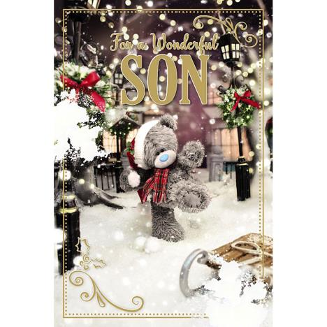 3D Holographic Wonderful Son Me to You Bear Christmas Card  £3.39
