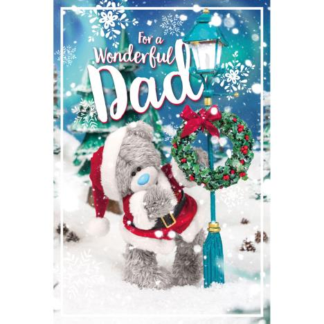 3D Holographic Wonderful Dad Me to You Bear Christmas Card  £3.39