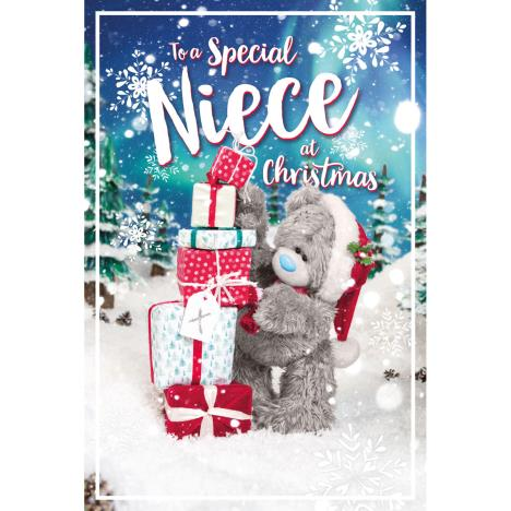 3D Holographic Special Niece Me to You Bear Christmas Card  £3.39
